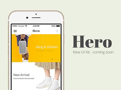 Upcoming UI Kit - Stay Tuned app mobile freebie sketch photoshop ux kit ui