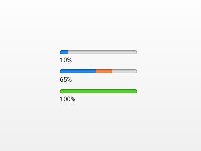 UI Progress Bars progress indicator progress progress bars progress bar progressbar ui
