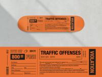 Violation Skateboard Deck Graphics
