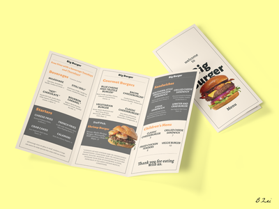 Daily UI Challenge - 43 - Food/Drink Menu drinks menu burger menu menu design menu food figma dailyuichallenge design dailyui ux ui