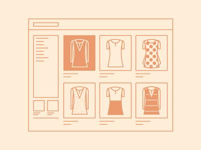 Entrepreneur first steps infographic design illustration fashion store entrepreneurship