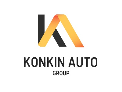 Konkin Auto Group auto dealership dealer tonkin konkin logo design logo