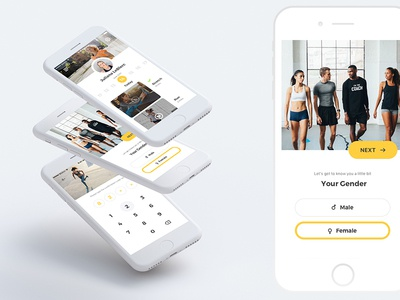 Personal Gym Assistent App toptal gym training fitness app