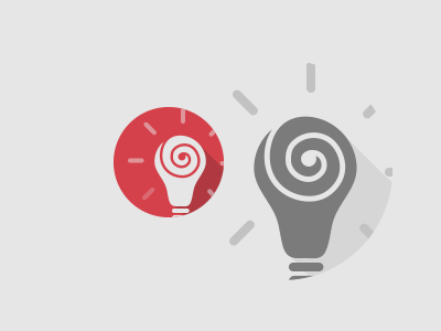 Ideation idea bulb thinking thought process