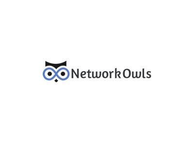 Network Owls - Logo Design logo owl network owl
