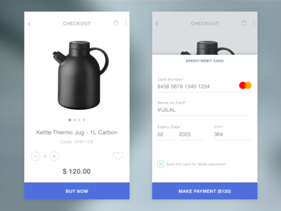 Daily UI #003 Checkout
