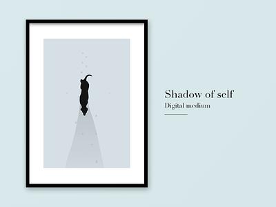 Shadow of self timepass art digitalillustration nightwatch straydog shadowwalk
