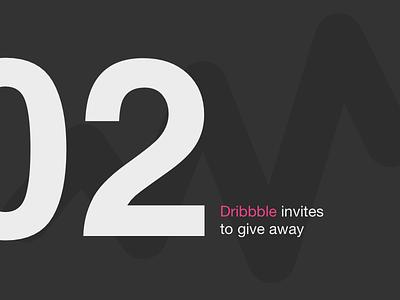 2 Dribble invites dribbbleinvites