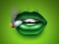 Weed Lips