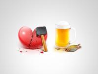 Broken Heart & Beer
