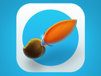 Brush Icon for iOS7