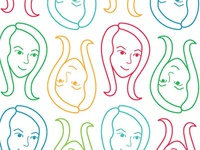 Face Icon Pattern