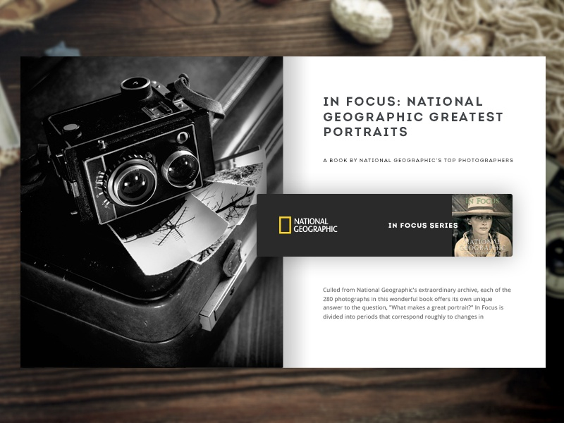 Day 004 - Book Card website portrait inspiration fashion daily clean blog ui flat