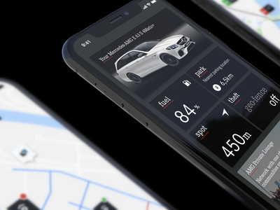 Mercedes AMG ios ui android