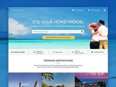 Honeymoon Travel Registry