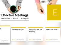 7 work effective meetings