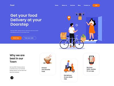 Website Landing page Design amazing websites minimal ux uxui design layout landing landscape website webdesign web