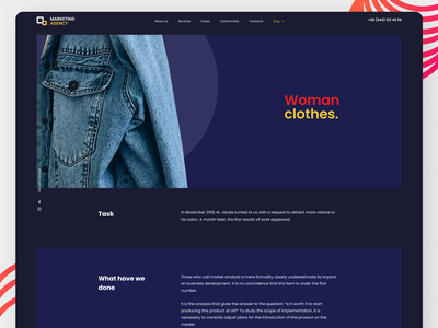 Shoping Landing Page typography branding concept booking system amazing ux design minimal