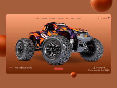 New Landing Page Concept ui concept ux design minimal