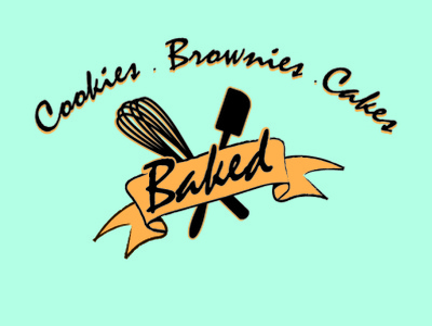Baked Logo v2021 vector typography logo illustrator design branding