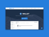 Eximchain Website - Eximchain Wallet