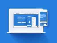 Eximchain Website - Mobile App