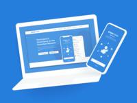 Eximchain Mobile App - Website & App