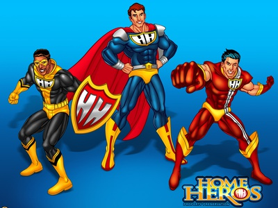 Home Heros mascot character charactedesign character creation character art illustration agency characterdesign character concept