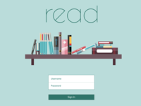 read: Online Book Library Design