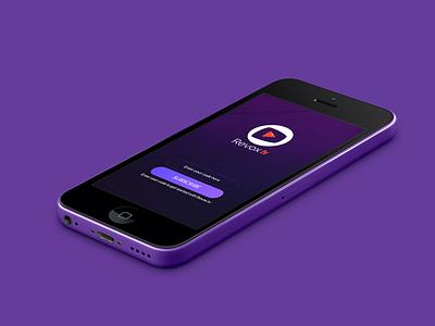 Revox Live TV App ( IOS Version) iphone ios channels user interface ux ui live app tv