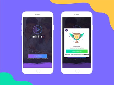 Live Streaming TV Application