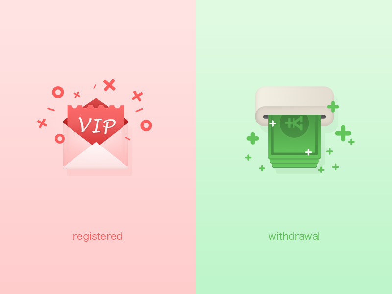 Feature Icon feature iphone green red icon android ios first illustration ui