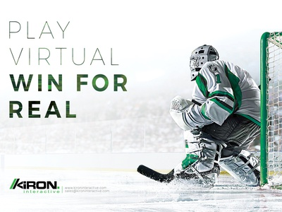 Ice Hockey Advertisement design