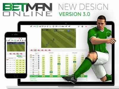 Betman 3. Redesign web design ux ui