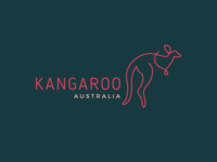 Day 19/50 #dailylogochallenge Kangaroo Logo
