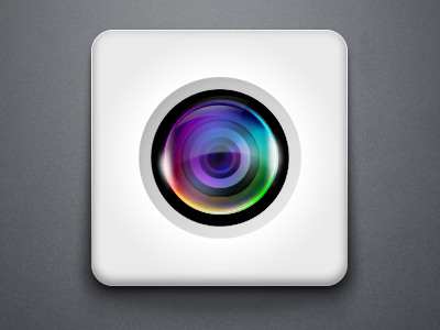 Camera Lens Icon camera lens icon color colors icons apple ios app