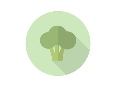 Broccoli Vector broccoli vegetables art vector logo illustration icon graphicdesign flat design