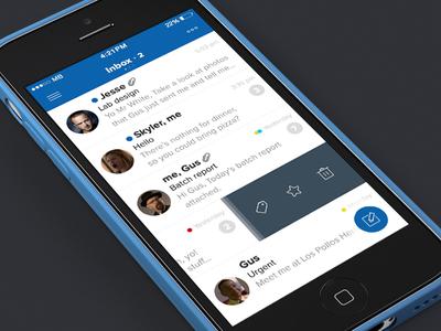 Sparrow for iOS7 [concept]