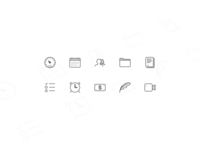 iCouch Icons