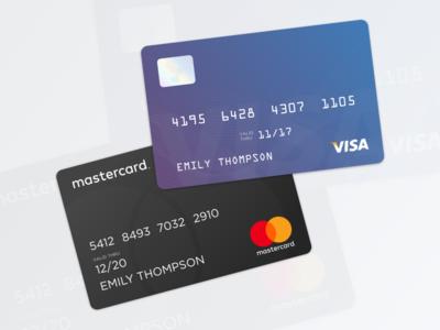 Credit Cards money debit payment pay mastercard visa credit card