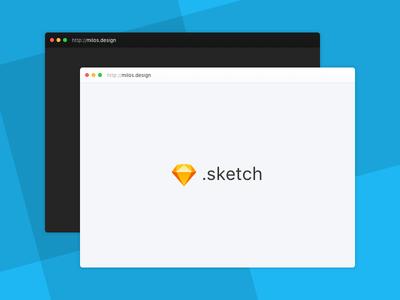 Minimal Browser Mockup [.sketch freebie] free freebie browser minimal sketch mockup
