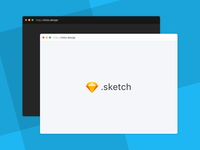 Minimal Browser Mockup [.sketch freebie]