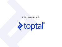I'm joining Toptal!