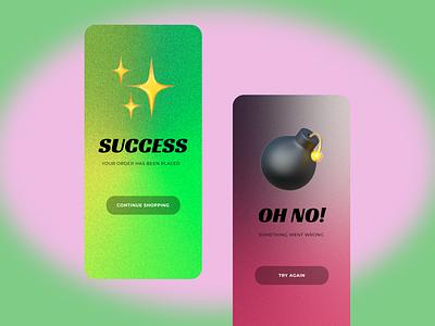 Daily UI 011 ( Flash Message) illustration ui app design design daily ui dailyuichallenge dailyui daily 100 challenge