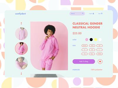 E-Commerce Shop (Single Item) daily ui 012 web design webdesign ui design daily ui dailyuichallenge dailyui daily 100 challenge