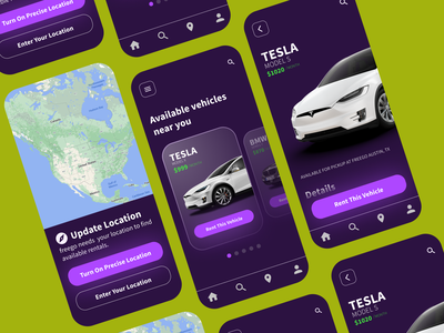 Car Interface day 33 day 033 daily ui 003 daily ui 033 rental car app rental app car app car interface bmw tesla app design ui design daily ui dailyuichallenge dailyui daily 100 challenge