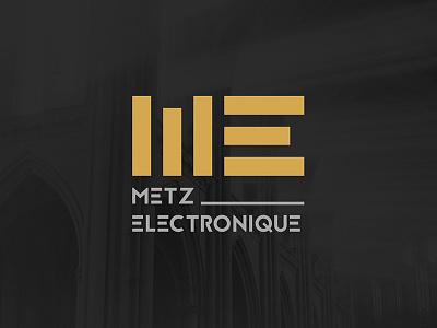 Metz Electronique - Branding electro festival music styleguide logo branding