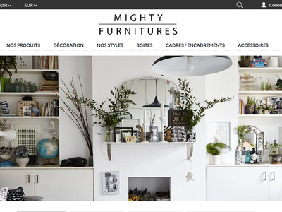 Thème Prestashop | Mighty Furniture webdesign shop cms e-commerce prestashop