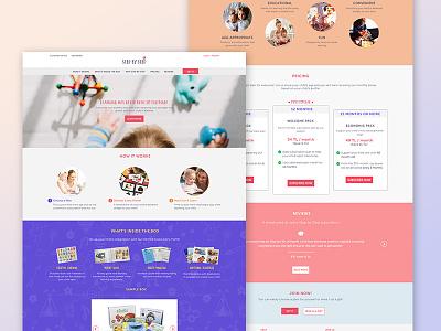 Landing Page Design onepage user interface user experience webdesign landingpage responsive design uidesign