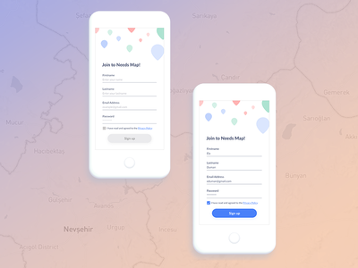 Daily UI #001 - Sign up signup ux design uidesign mobileapp challenge design dailyui
